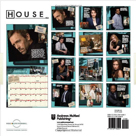 House m d guide gift ideas for christmas birthdays for House md music