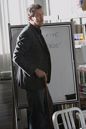 House and his White Board